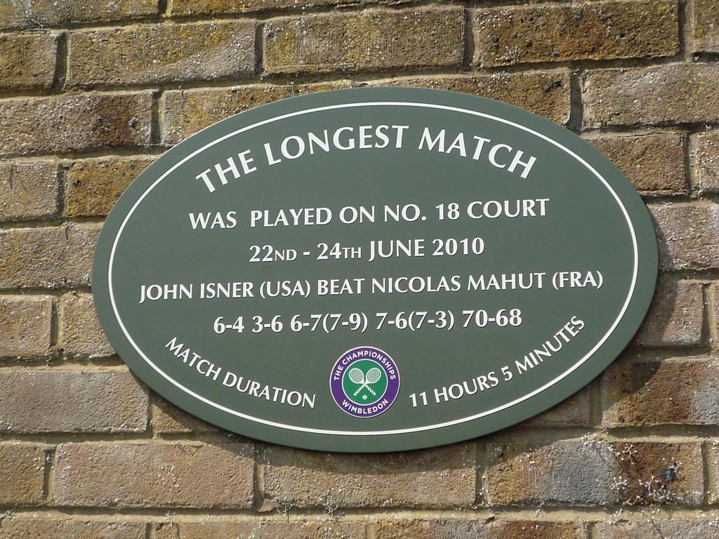 tennisspelregels - Longest tennis match